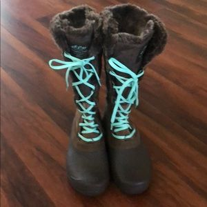 Super Cute Snow Boots, The North Face / worn ONCE!
